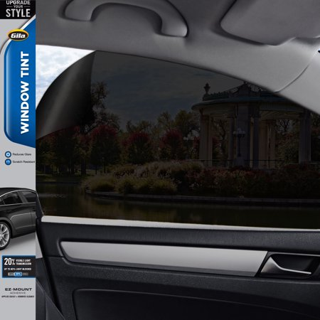 Gila® Basic 20% VLT Automotive Window Tint DIY Glare Control UV Blocking 2ft x 6.5ft (24in x