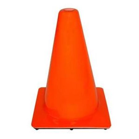 Everrich Evb 0094 9 In  Height Plastic Cone  44  Orange