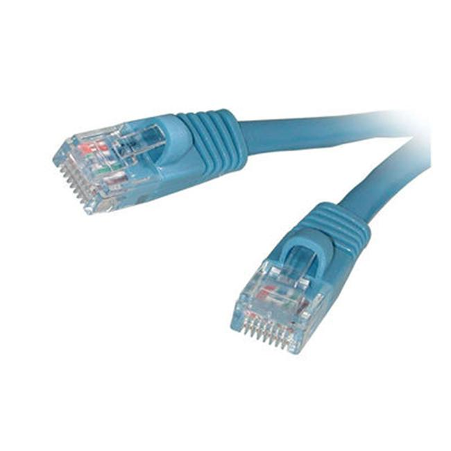 Patch cable - RJ-45 M - RJ-45 M - 25 ft - CAT 5e - blue - image 1 de 1