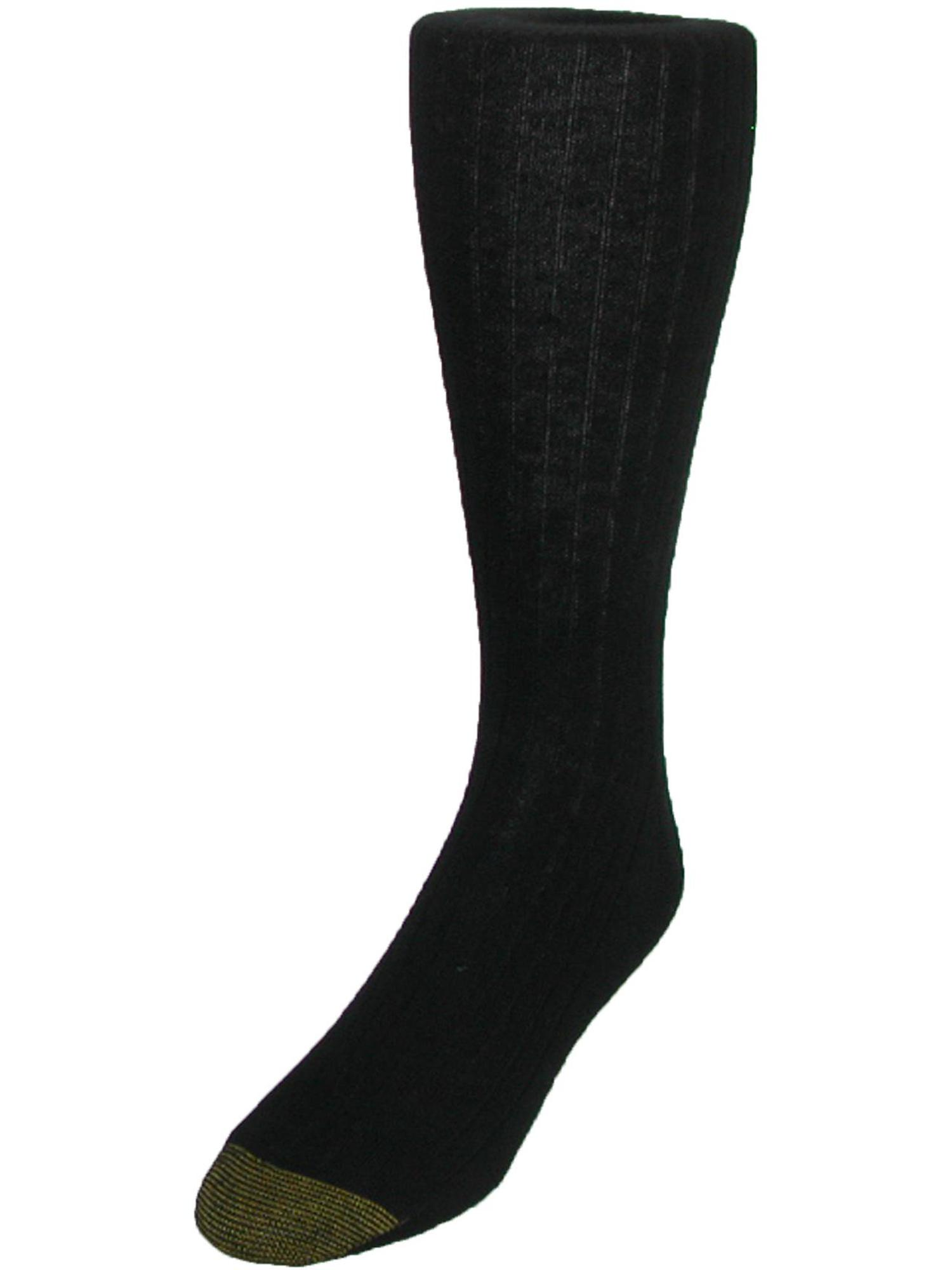 Size one sizeShoe Size 6 - 12 1/2 Men's Edinburgh Merino Wool AquaFX Dress Socks