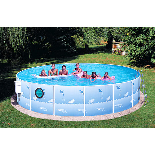 Heritage Round 15' x 36'' Above Ground Swimming Pool