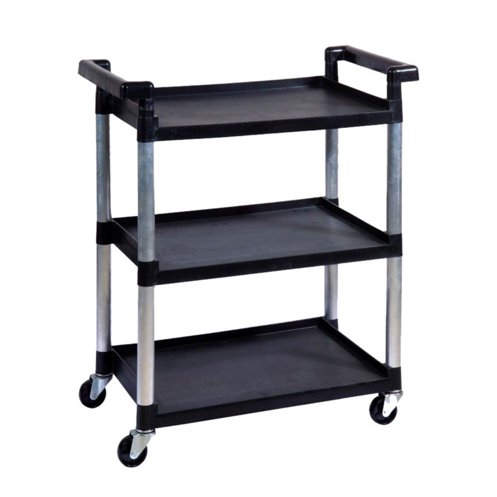 3 tier utility cart short utility trinity 3tier utility cart black walmartcom