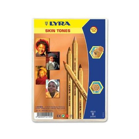 Lyra Color Giants Skin Tone Colored Pencils