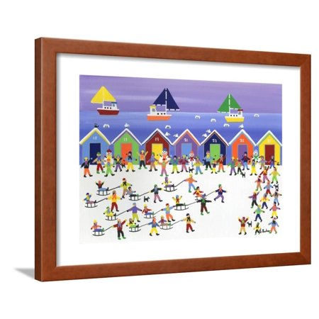 Winter Beach Parade Framed Print Wall Art By Gordon Barker - Halloween Parade Miami Beach