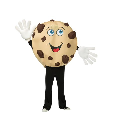 Adult Cookie Mascot Costume - Size Up to 6'3