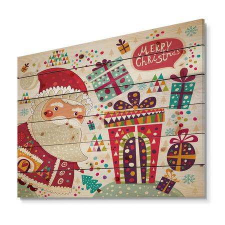 Design Art - Santa Claus with Christmas presents - image 5 de 5