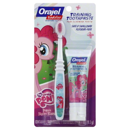 My Little Pony Toddler Training Toothpaste Pinkie Fruity