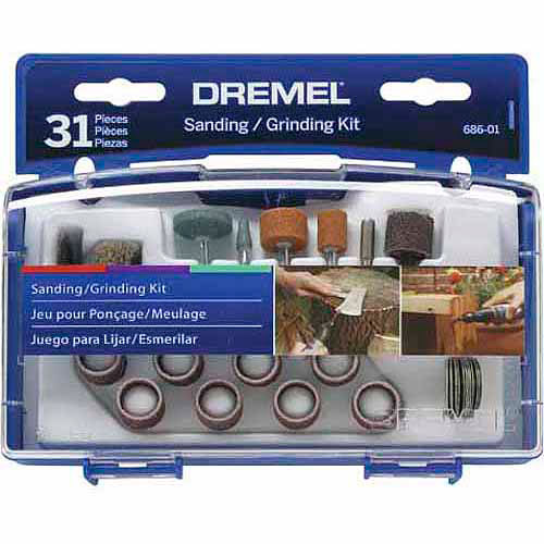 Dremel Sanding/Grinding Mini Accessory Kit, 686-02