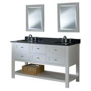 Direct Vanity Sink Mission Spa 60D6 60 in. Double Bathroom Vanity