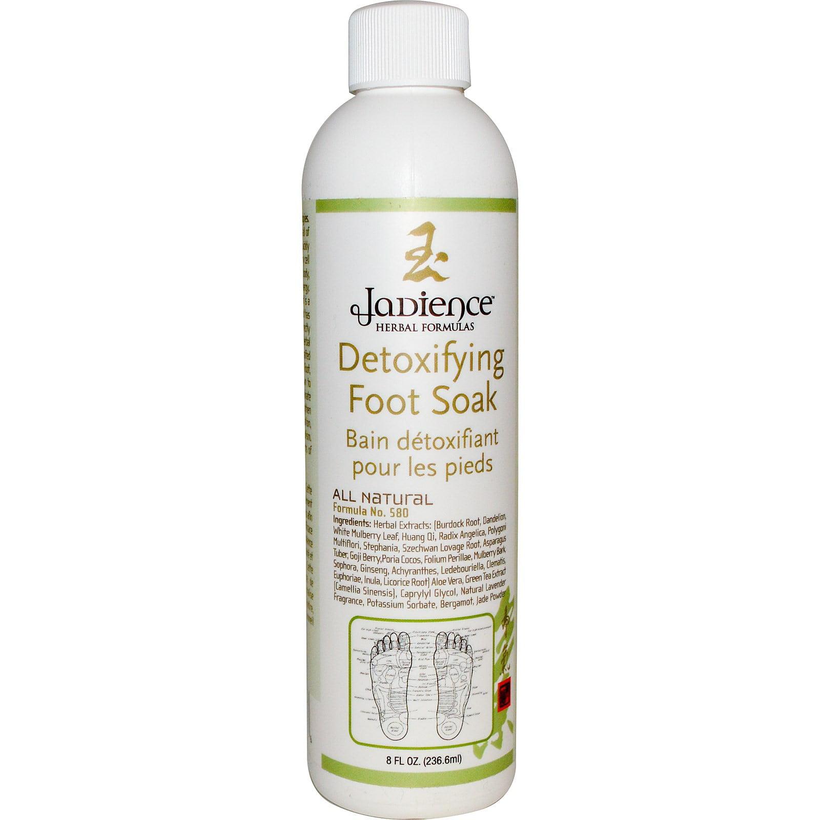 Jadience Herbal Formulas Detoxifying Foot Soak, 8 Oz