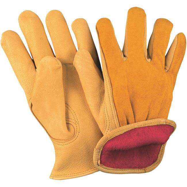 Box Partners GLV1067L Deerskin Leather Drivers Gloves Lin...