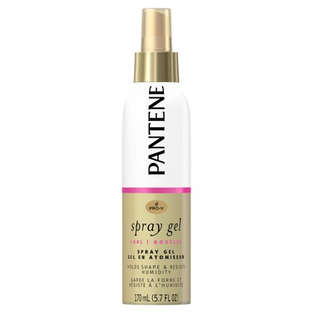 Pantene Pro-V Curl Spray Gel to Hold Shape & Resist Humidity, 5.7 fl - Hold Gel Gel