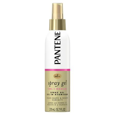 - Pantene Pro-V Curl Spray Gel to Hold Shape & Resist Humidity, 5.7 fl oz