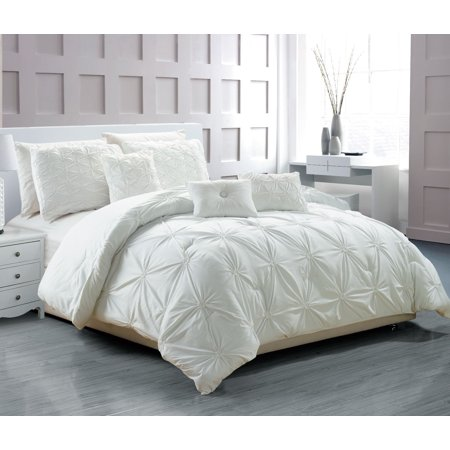 Empire Home Davina 6 Piece Comforter Set New Arrival White Queen Size