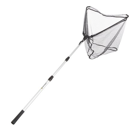 Fishing Net with Telescoping Handle- Collapsible and Adjustable Landing Net with Corrosion Resistant Handle and Carry Bag By Wakeman Outdoors -