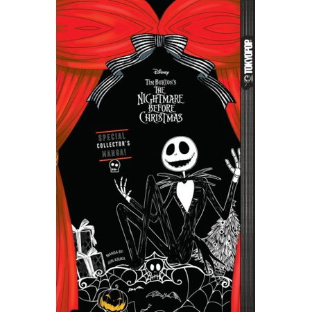 Disney Manga  Tim Burtons The Nightmare Before Christmas  Soft Edition