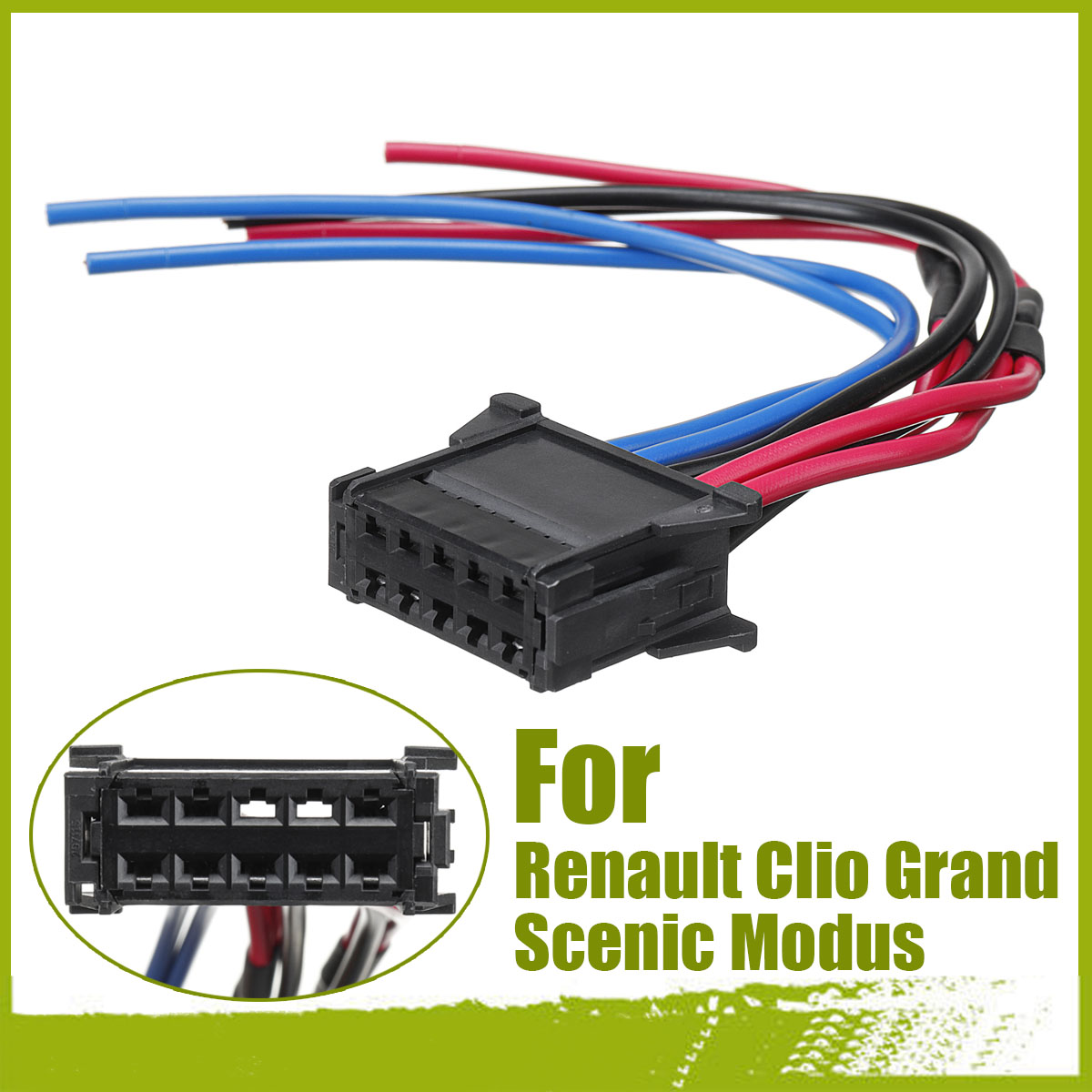 Heater Resistor Wiring Harness Loom Fits Clio Grand Scenic
