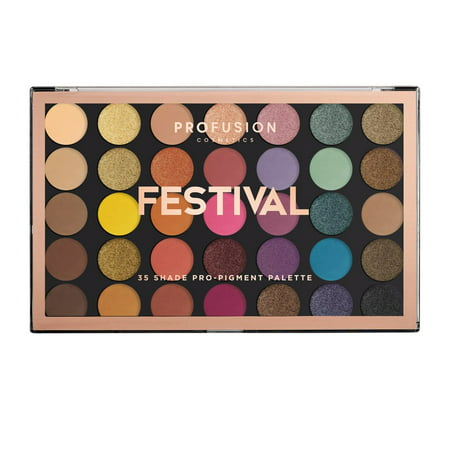 Profusion Cosmetics Eye Shadow Festival 35 Color