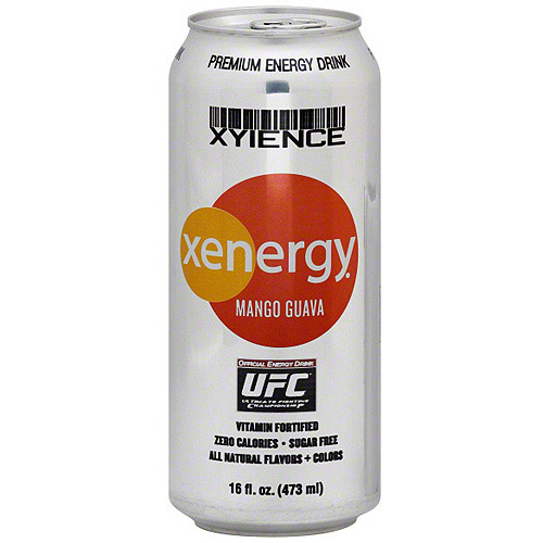 Xyience Mango Guava Energy Drink, 16 oz (Pack of 12)