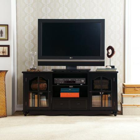 Southern Enterprises Palisade Antique Black Tv Stand  For Tvs Up To 50