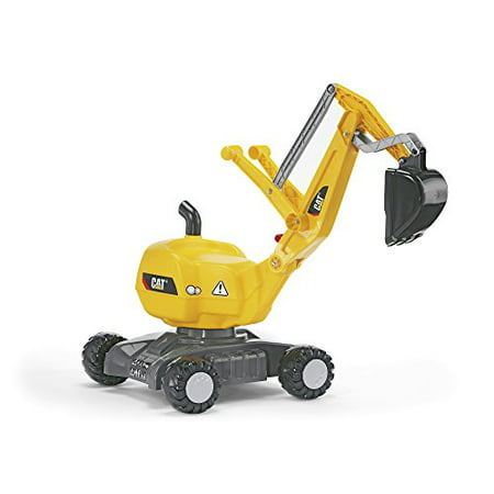 rolly toys CAT Construction Ride-On: 360-Degree Excavator/Shovel Digger, Youth Ages 3+](Youth Toms Outlet)