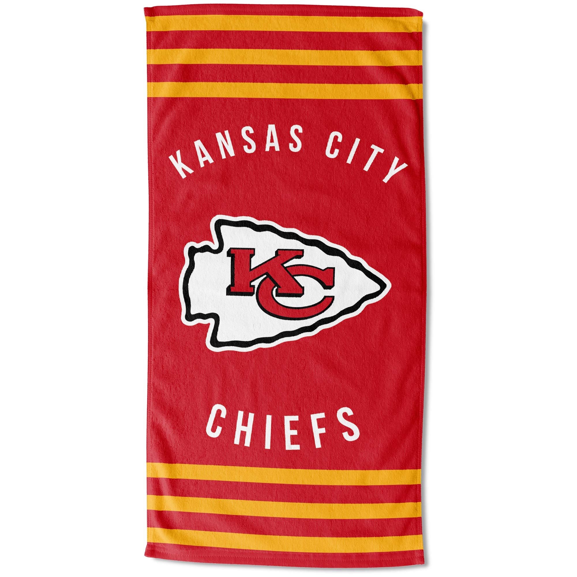 "Kansas City Chiefs The Northwest Company 30"" x 60"" Striped Beach Towel - No Size"