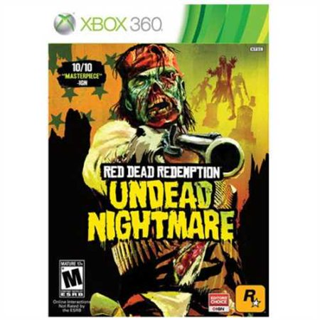 Red Dead Redemption Undead Nightmare (Xbox 360) - (Full Red Ring Of Death Xbox 360)