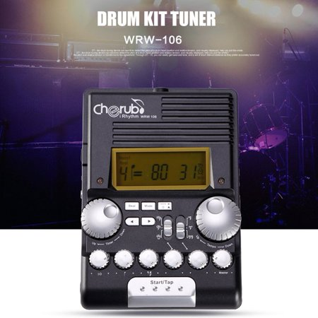 Multifunctional Cherub Wrw 106 Drum Electronic Metronome Sound Rhythm Device