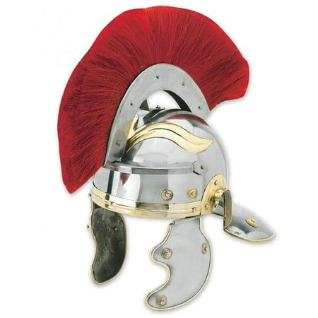 Roman Centurion 18G Steel Historical Costume - Roman Centurion Helmet