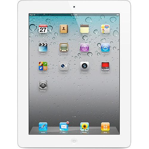 Apple iPad 2 Tablet MC981LL/A 64GB Wifi, White (Refurbished)