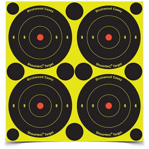 "Birchwood Shoot-N-C 3"" Bull's-Eye, 48 Targets, 120 Pasters"