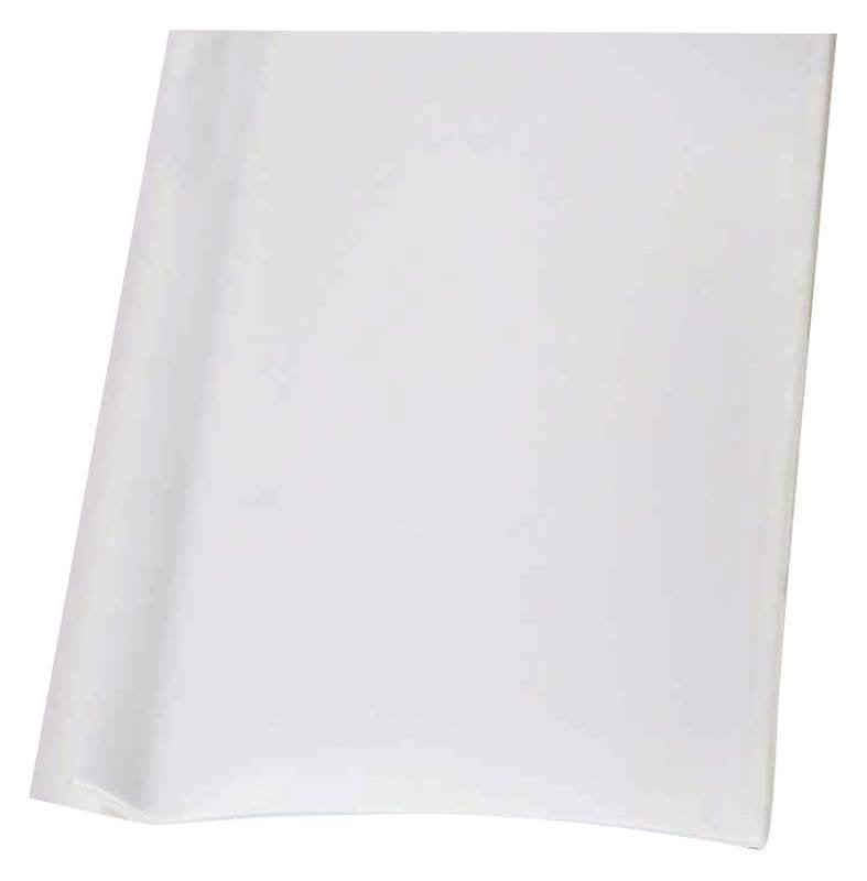 M-D 75697 Wall Base, 48 in L x 2-1/2 in W, Vinyl, White