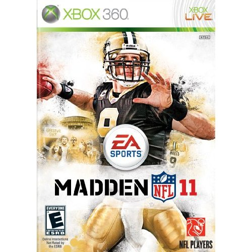 Refurbished Madden NFL 11 For Xbox 360 Football