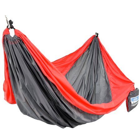 Equip 2p Travel Hammock Red and Gray