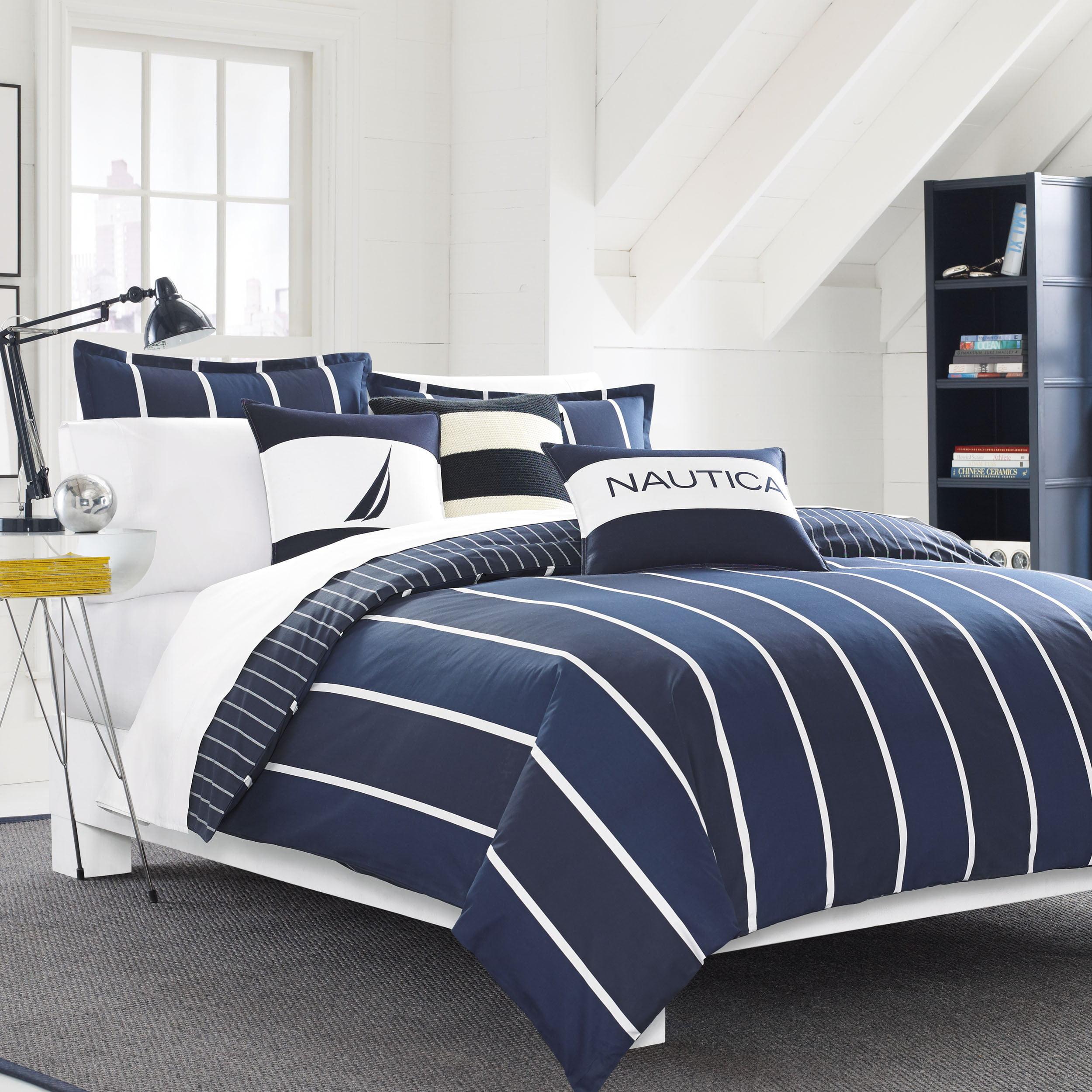 Nautica  Knots Bay 3-piece Cotton Comforter Set