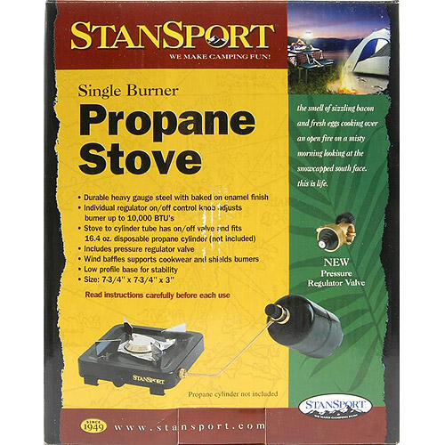 Stansports Single Burner Propane Stove