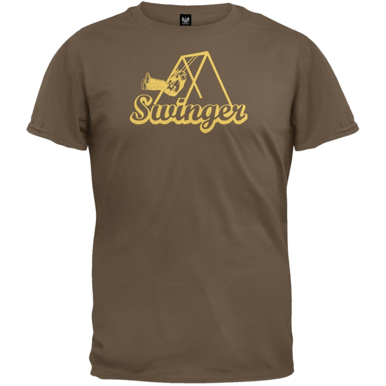 Swinger Brown Adult T-Shirt
