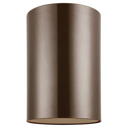 Sea Gull Lighting Outdoor Bullets 7813991S Large LED Outdoor Ceiling Flush -