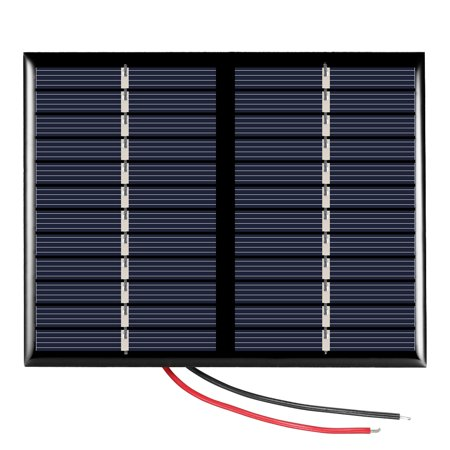 1.5W 12V Polycrystalline Silicon Solar Panel Solar Cell for DIY Power Charger (Crystalline Silicon Solar Panel)