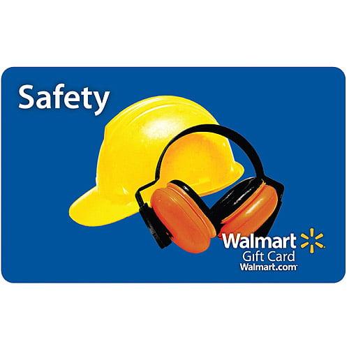 Safety Walmart Gift Card