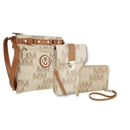 fb644d05b MKF - MKF Collection Triple Sets or individuals Crossbody, Wallet and Phone  Bag by Mia K Farrow - Walmart.com