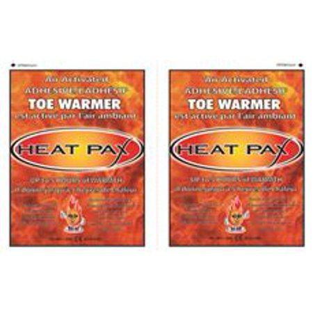 Heat Pax Air Activated Adhesive Toe Warmers, 40 Unit Display Box,