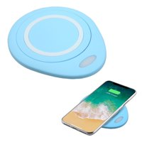 Wireless Charging Pad Charger for Samsung Galaxy S9, S9+, Note 9/ 8, S8,S8 Plus, S8+, S7, S7 Edge, S7 Active (Blue)