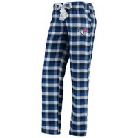 Toronto Blue Jays Concepts Sport Women's Piedmont Flannel Pants - Royal