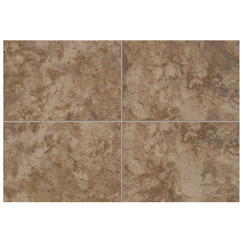 Mohawk Flooring Pavin Stone 10'' x 3'' Bullnose Tile Trim in Brown Suede