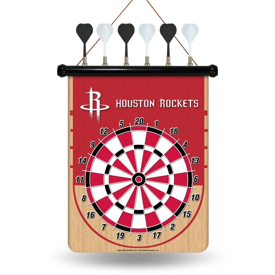 Rico NBA Magnetic Dart Set, Houston Rockets