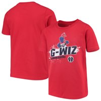 Washington Wizards Youth Mascot Ice Break T-Shirt - Red