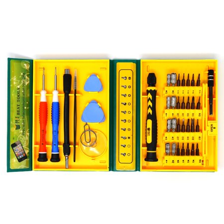 Best BST-8922 38 in 1 Precision Telecommunication Toolset - Repair Toolkit for Samsung, iPhone, LG, Motorola and
