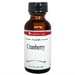 Cranberry LorAnn Hard Candy Flavoring Oil 1 oz