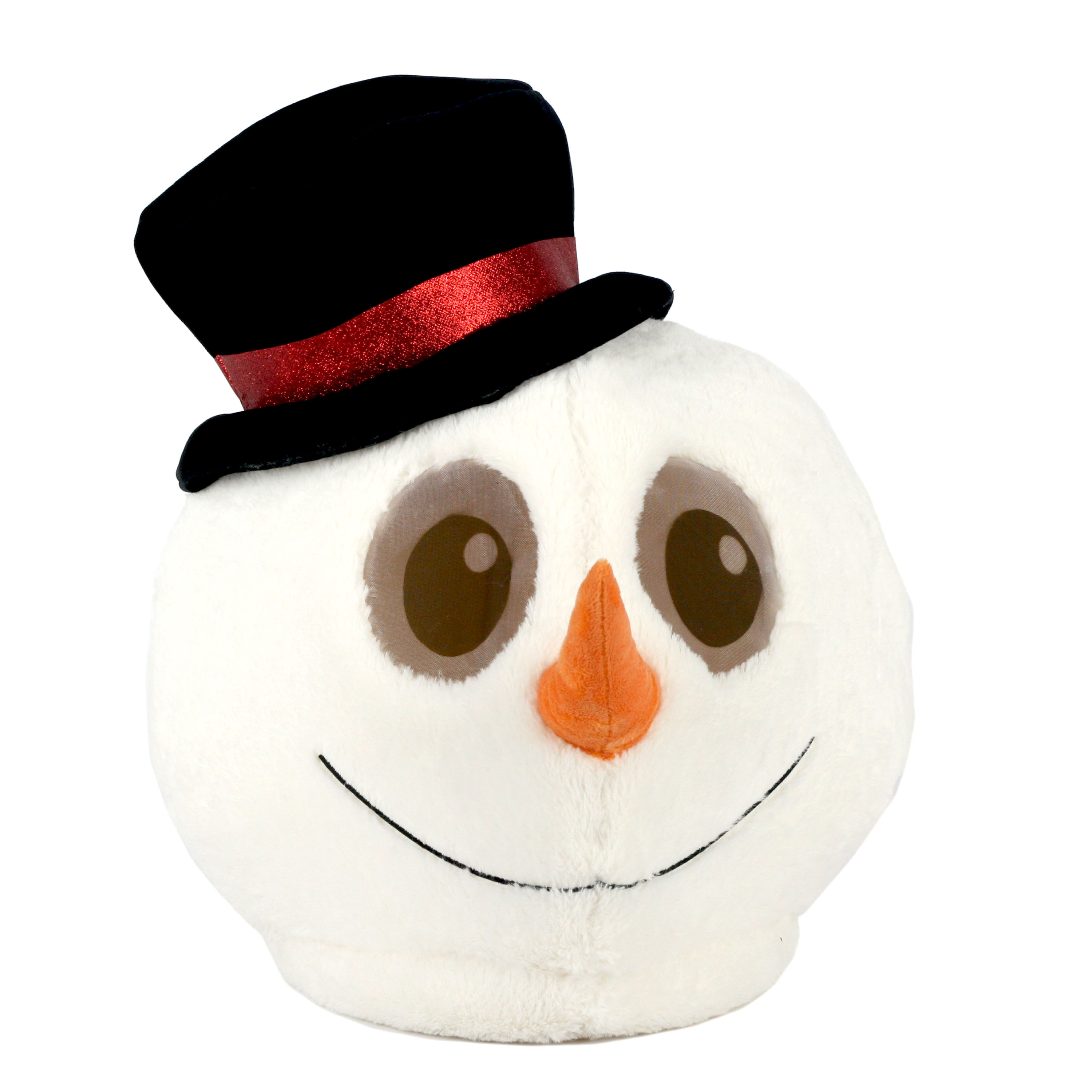 Maskimals Oversized Plush Xmas Mask - Snowman